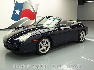 2003 Porsche 911 Carrera Cabriolet 6 - Spd 52k Mi Texas Direct Auto photo