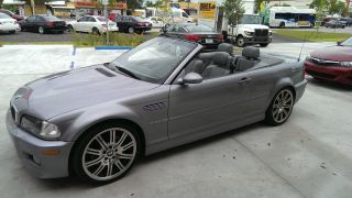 2005 Bmw M3 Base Convertible 2 - Door 3.  2l photo