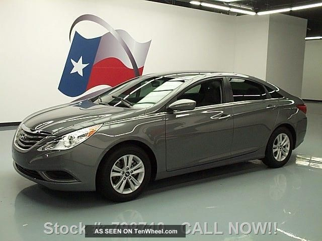 2013 Hyundai Sonata Gls Cruise Control Alloy Wheels 6k Texas Direct Auto Sonata photo