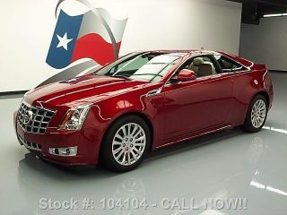 2013 Cadillac Cts 3.  6l Premium Coupe 6k Mi Texas Direct Auto photo