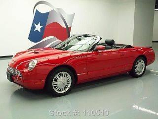 2003 Ford Thunderbird Convertible3.  9l V8 56k Mi Texas Direct Auto photo