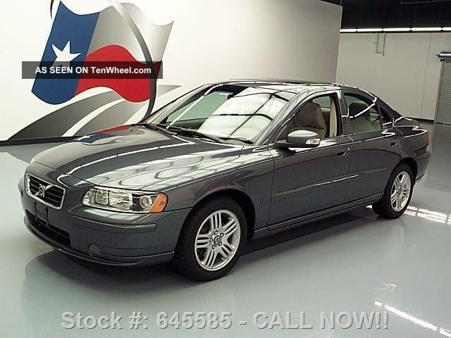 2007 Volvo S60 2.  5t Premium Only 75k Mi Texas Direct Auto S60 photo