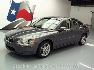 2007 Volvo S60 2.  5t Premium Only 75k Mi Texas Direct Auto photo