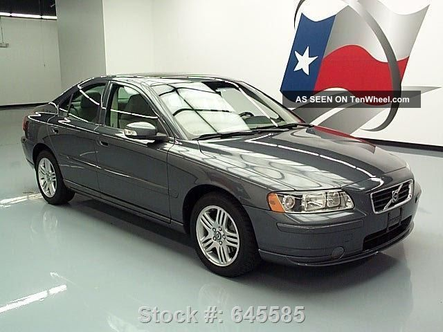 2007 volvo s60 2 5t premium only 75k mi texas direct auto. Black Bedroom Furniture Sets. Home Design Ideas