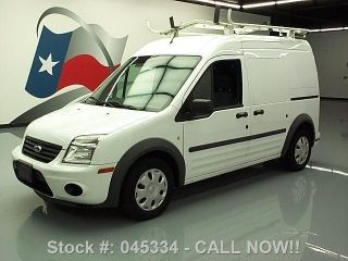 2011 Ford Transit Connect Cargo Van Ladder Rack 66k Texas Direct Auto photo