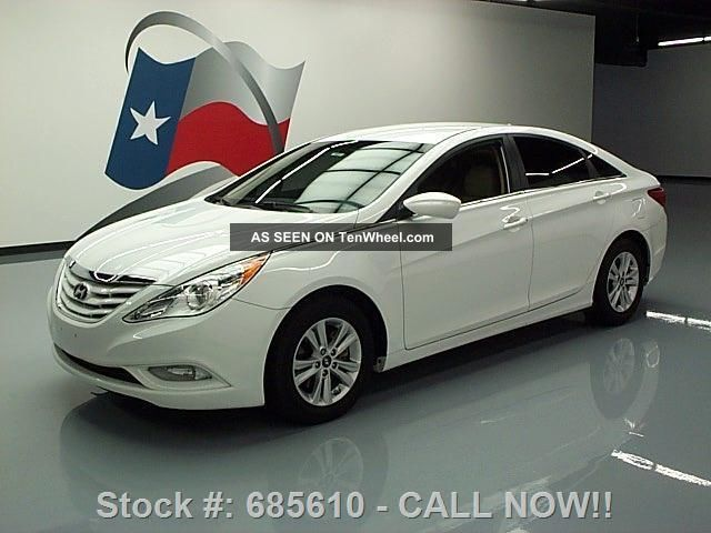2013 Hyundai Sonata Gls Alloy Wheels 19k Texas Direct Auto Sonata photo