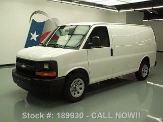 2012 Chevy Express 1500 Cargo Van V6 Partition Only 13k Texas Direct Auto photo