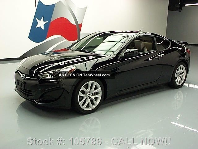 2013 Hyundai Genesis 2.  0t Coupe Turbo 7k Mi Texas Direct Auto Genesis photo