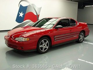 2004 Chevy Monte Carlo Ss Supercharged Dale Jr Texas Direct Auto photo