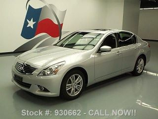 2012 Infiniti G37 Journey Sedan 26k Mi Texas Direct Auto photo