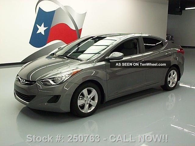 2013 Hyundai Elantra Gls 6 - Speed Alloy Wheels Only 15k Texas Direct Auto Elantra photo