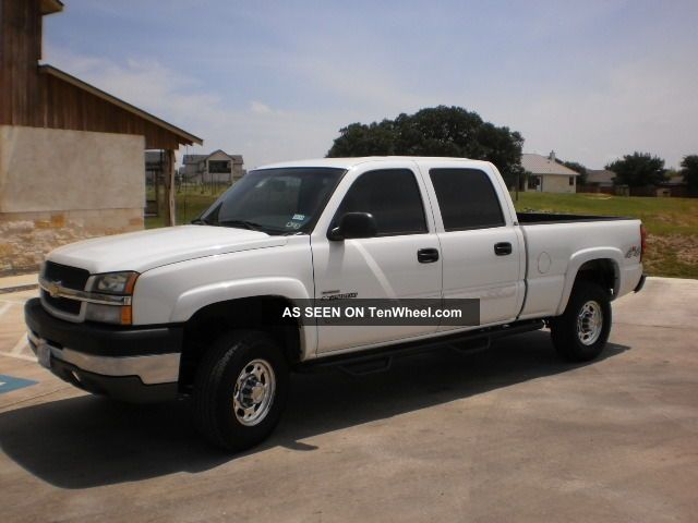 2004 chevy silverado 2500hd 4x4. Black Bedroom Furniture Sets. Home Design Ideas