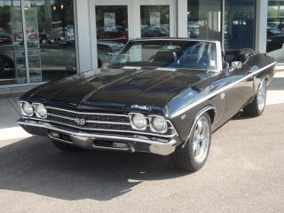 1969 Chevy Chevelle Ss 396 Convertible photo