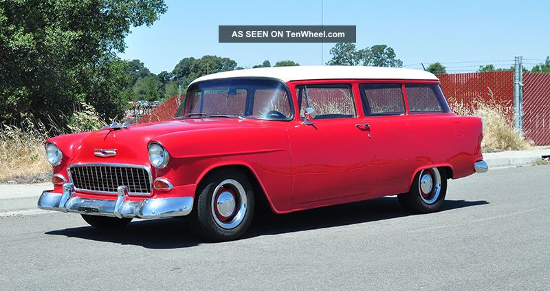 1955 Chevrolet Handyman 2 - Door Station Wagon Bel Air/150/210 photo