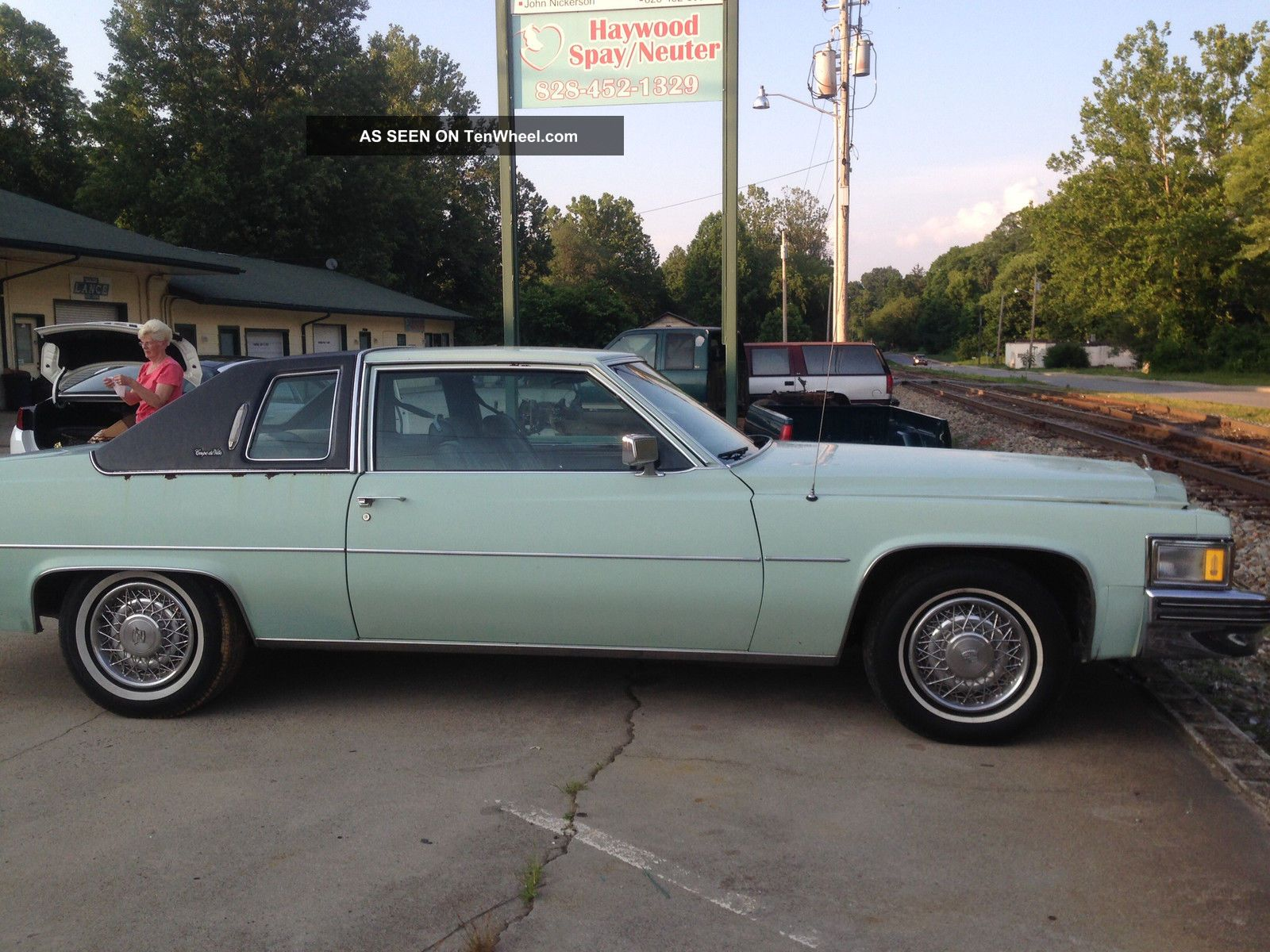 1978 Cadillac Deville Base Coupe 2 Door 7 0l Sedan