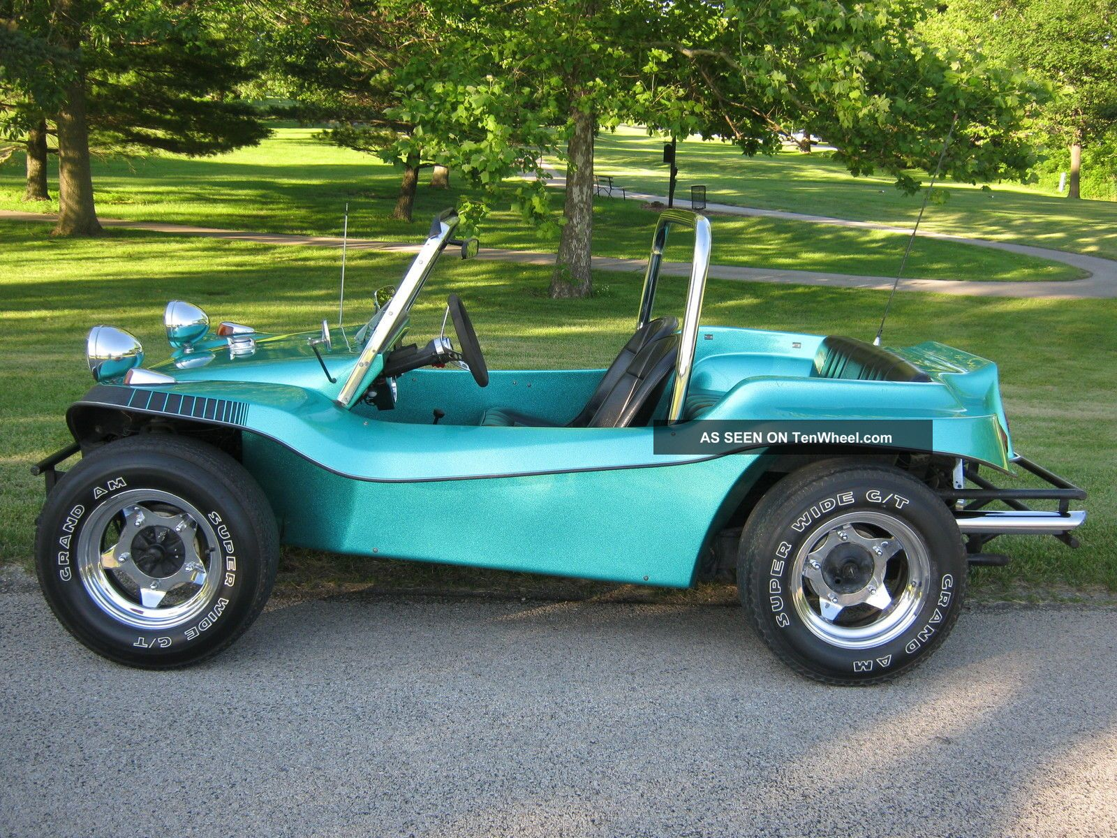 1966 volkswagen vw dune buggy meyers manx replica runs drives hardtop sides. Black Bedroom Furniture Sets. Home Design Ideas