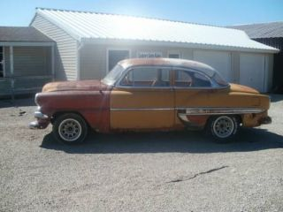 1954 Chevrolet Bel - Air,  2 Door Sedan,  6 Cylinder 3 - Speed On Column. photo