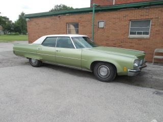 Lower Mileage 1972 Oldsmobile Ninety Eight 4 Door Luxury Sedan photo