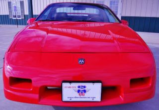 1987 Pontiac Fiero Gt - Red - - Options - High Performance photo