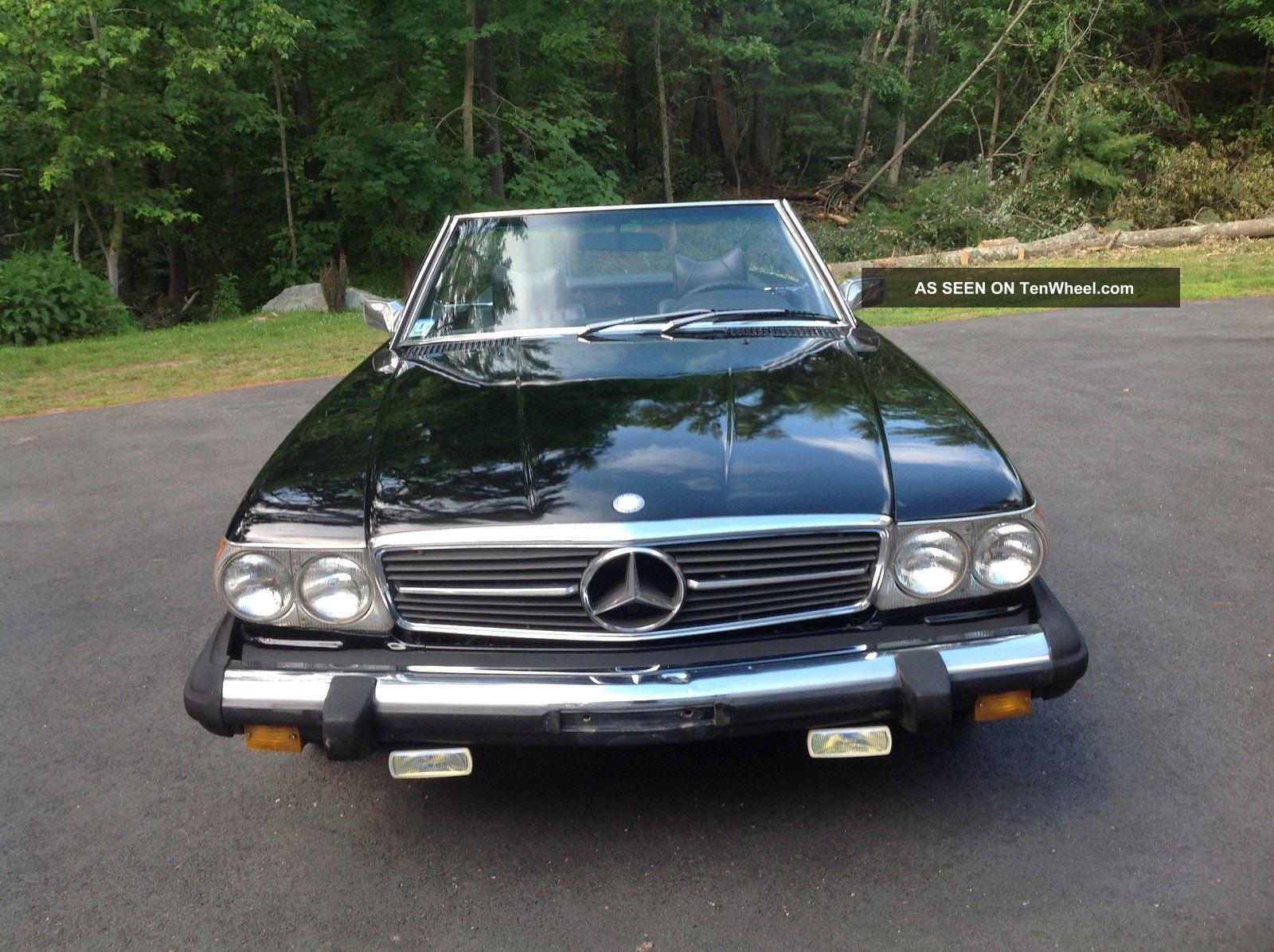 1976 mercedes benz sl 450 2 door convertible roadster for Mercedes benz 2 doors