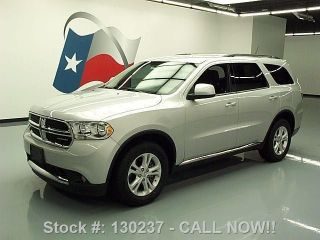 2012 Dodge Durango Sxt 3.  6l V6 3rd Row 7 - Passenger 29k Texas Direct Auto photo
