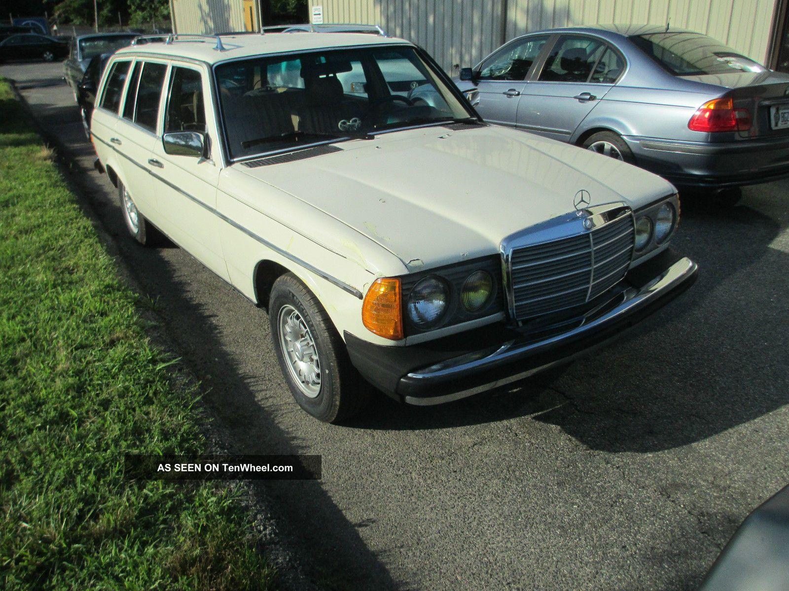 1983 mercedes 300td grease car waste cooking oil for 1983 mercedes benz 300td