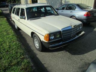 1983 Mercedes 300td Grease Car,  Waste Cooking Oil photo