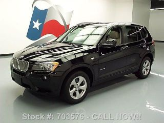 2011 Bmw X3 Xdrive 28i Awd Pano 27k Texas Direct Auto photo
