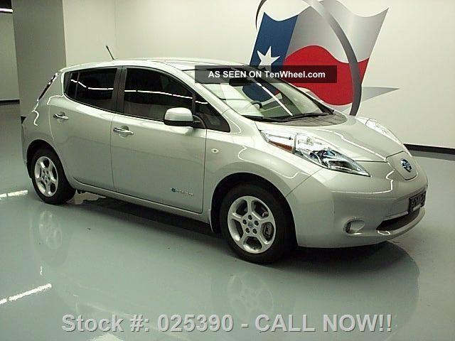 2012 nissan leaf sl zero emission electric texas direct auto. Black Bedroom Furniture Sets. Home Design Ideas