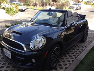 2013 Mini Cooper S Convertible - Top Of The Line Options Included photo