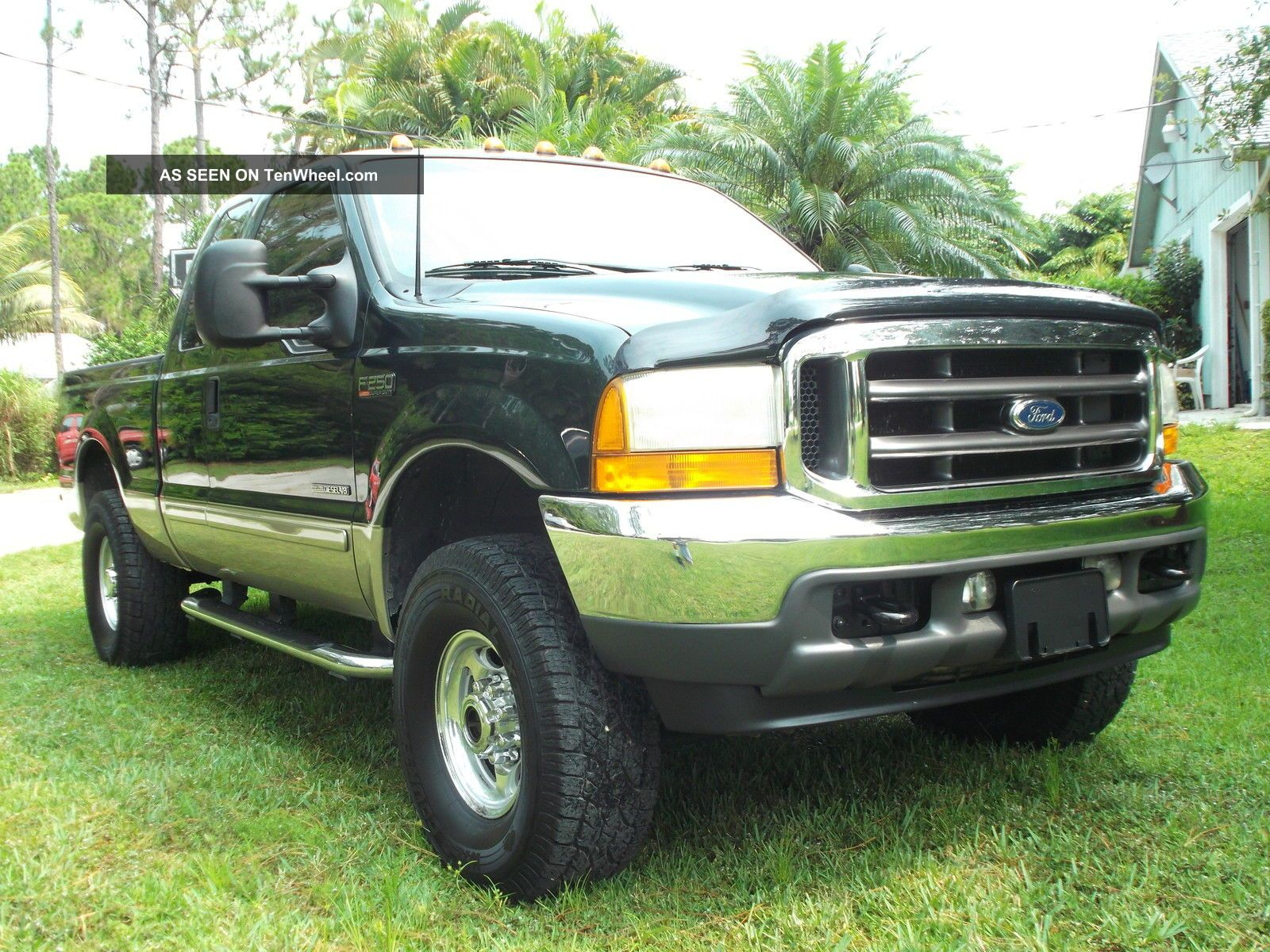 2001 ford f 250 4x4 extended cab with 7 3 powerstroke diesel lifted. Black Bedroom Furniture Sets. Home Design Ideas