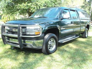 2002 Chevy C - - 2500 4x4 Crewcab Longbed Duramax Diesel With Topper photo