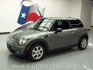 2010 Mini Cooper 6 - Speed Cruise Ctrl Alloy Wheels 46k Texas Direct Auto photo
