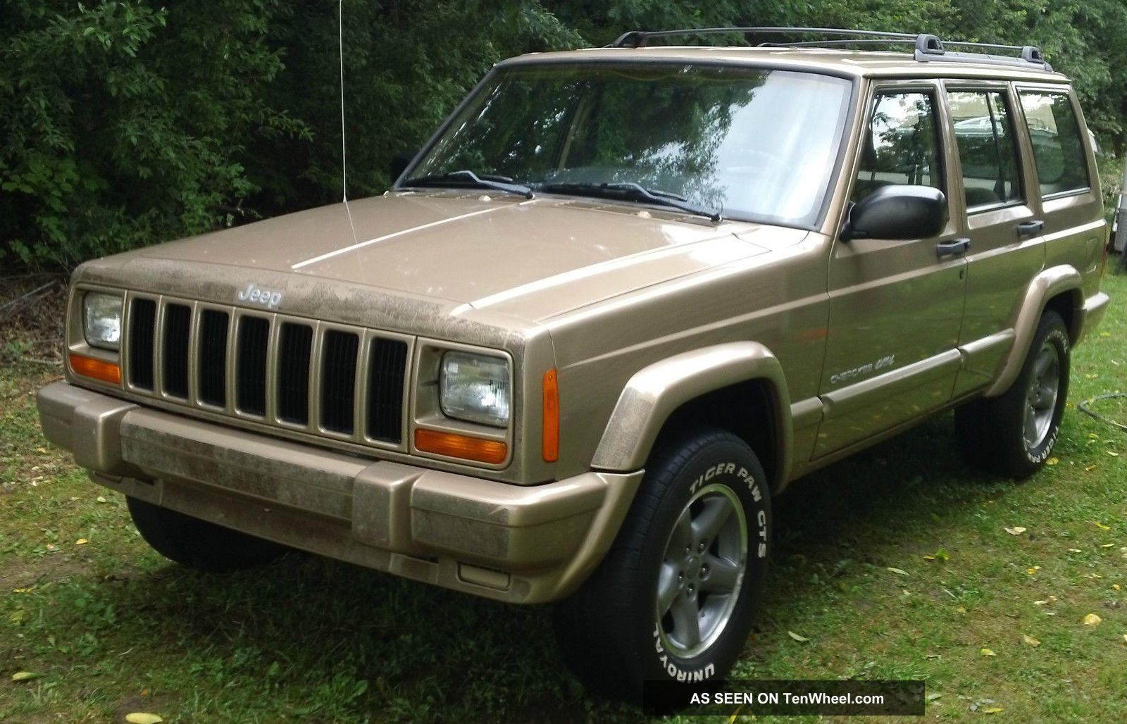 1999 Jeep Cherokee Classic Utility 4 - Door 4.  0l - Cherokee photo