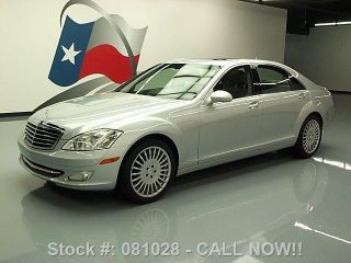 2007 Mercedes - Benz S550 Vent Seats 45k Mi Texas Direct Auto photo