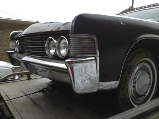 1965 Lincoln Continental Convertible Base 7.  0l Suicide Doors photo