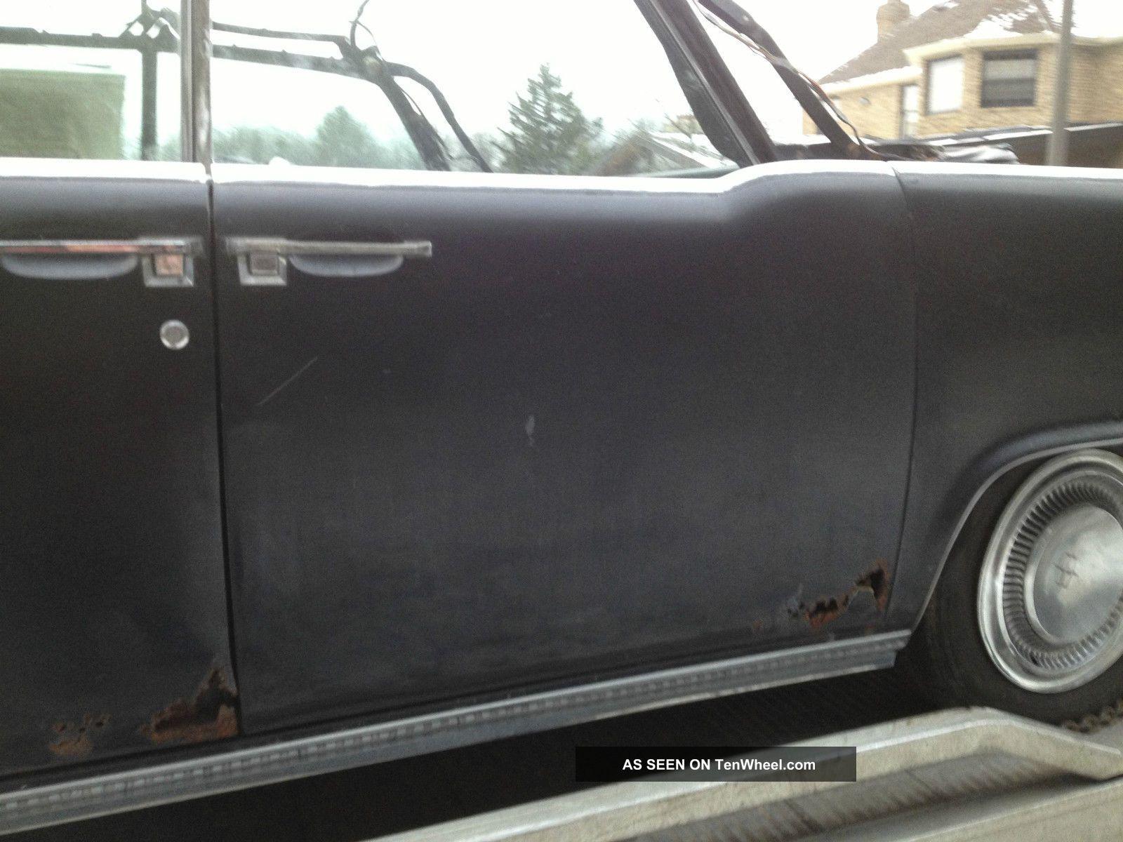 1965 lincoln continental convertible base 7 0l suicide doors for Mercedes benz suicide doors