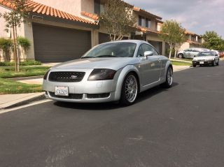 2001 Audi Tt Quattro Base Coupe 2 - Door 1.  8l Loaded And Chip photo