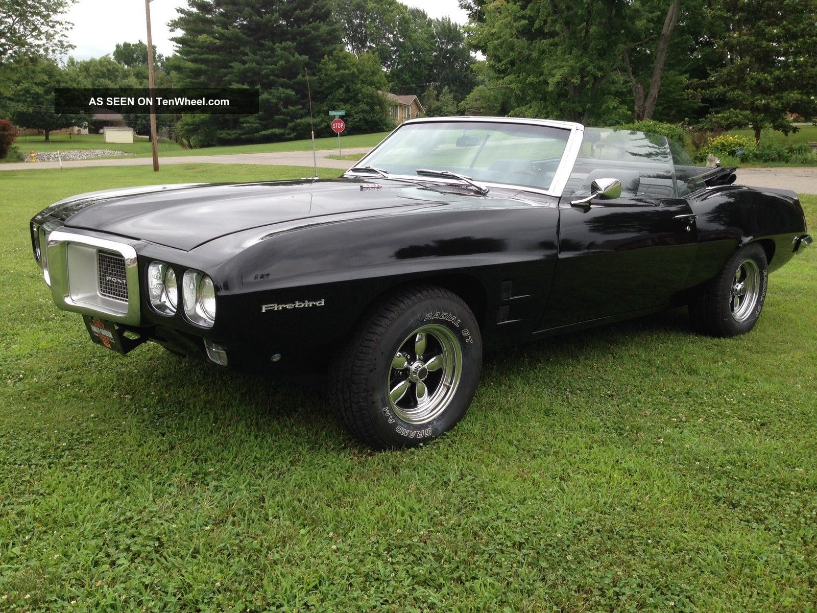 1969 Pontiac Firebird Convertible on 2014 mustang all wheel drive