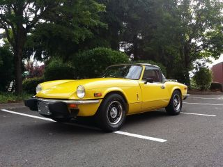 1977 Triumph Spitfire Base Convertible 2 - Door 1.  5l photo