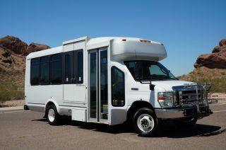 2009 Ford E450 Arizona Shuttle Bus Rust 12 Passenger ++ Shuttle Bus Van photo