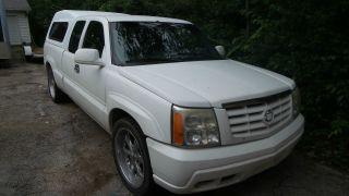 2001 Chevrolet Silverado 5.  3l Lt 4 Door Custom 2005 Escalade Conversion Ext Cab photo