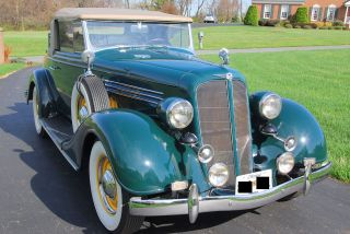 1935 Buick Series 40,  46 - C Convertible - Rumble Seat - Spectacular photo