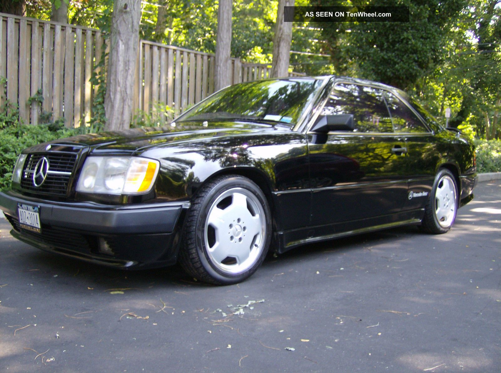 1988 Mercedes 300ce Black Amg Coupe