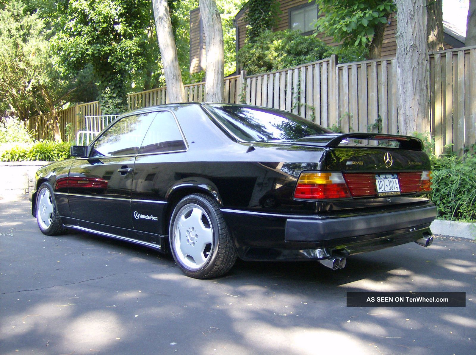 1988 mercedes 300ce black amg coupe for 1988 mercedes benz 300ce