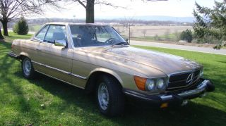 1985 Mercedes - Benz 380sl Convertible Garaged photo