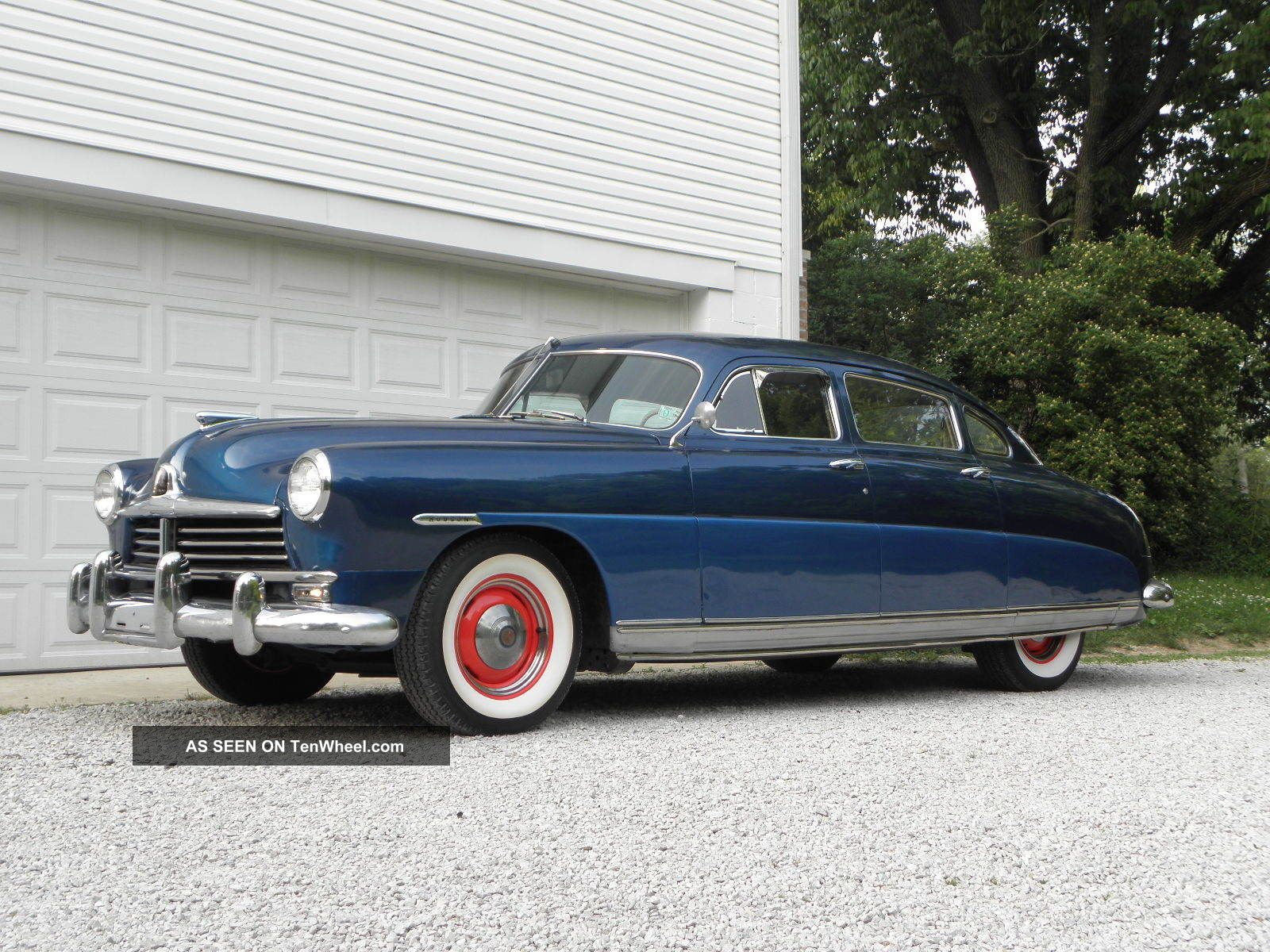 1949 Hudson Six Sedan Fresh Paint & Interior Runs And Drives Great Other Makes photo