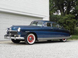 1949 Hudson Six Sedan Fresh Paint & Interior Runs And Drives Great photo