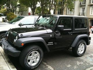 2010 Jeep Wrangler Sport Utility 2 - Door 3.  8l photo