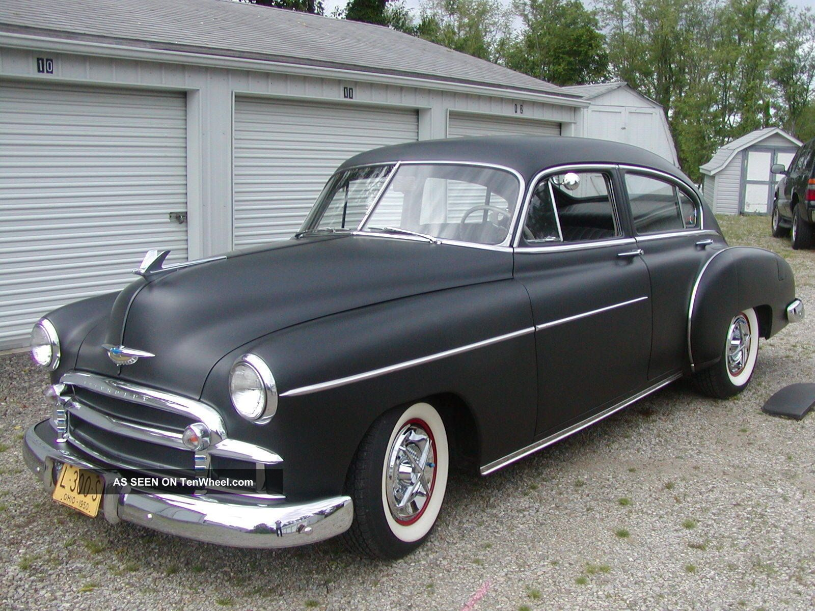 1950 Chevrolet Great Car And Ready To Drive Fleetline